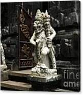 Beauty Of Bali Indonesia Statues 1 Canvas Print