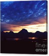 Beauty Of The Grand Tetons Canvas Print