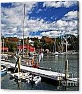 Beauty Of The Harbor Canvas Print