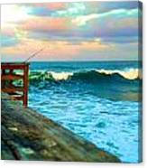 Beauty Of The Pier Canvas Print