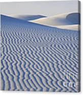 Patterns White Sands New Mexico Canvas Print