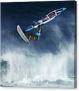 Beauty Of Windsurfing Maui 1 Canvas Print