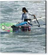 Beauty Of Windsurfing Maui 2 Canvas Print