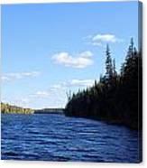 Beauty On The Lake Canvas Print