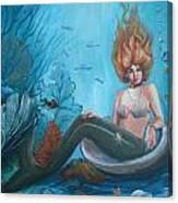 Beauty Under The Sea Canvas Print
