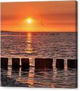 Beautyful Sunset Canvas Print