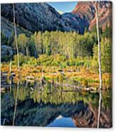 Beaver Lake Sierra Nevada Mountains Canvas Print