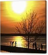 Beaverton Sunrise Canvas Print