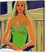 Becca Canvas Print