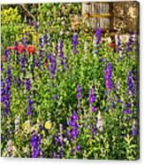Becker Vineyards' Flower Garden Canvas Print