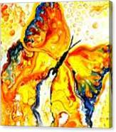 Becoming Butterfly Canvas Print