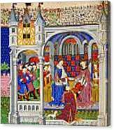 Bedford Hours Canvas Print
