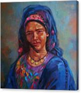 Bedouin Woman Canvas Print
