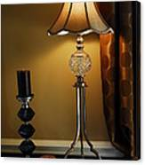 Bedroom Lamp Canvas Print