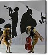 Bee Bop Canvas Print