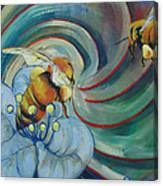 Bee Friends Canvas Print
