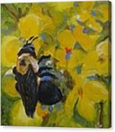 Bee-havin' Canvas Print