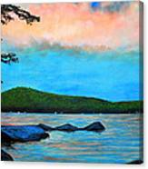 Beech Hill Pond Canvas Print