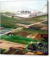 Beechcraft Bonanza Canvas Print