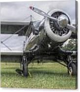 Beechcraft Staggerwing Canvas Print