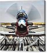 Beechcraft T-6a Texan II D Canvas Print