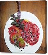 Beefsteak Canvas Print