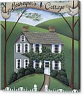 Beekeeper's Cottage Canvas Print