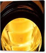 Beer Bottle Neck 1 H Canvas Print