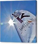 Beer Flag Canvas Print