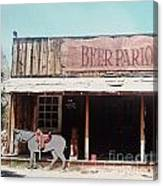 Beer Parlor Canvas Print