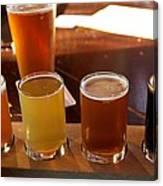 Beer Sampler Canvas Print