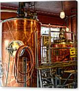 Beer - The Brew Kettle Canvas Print