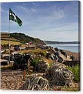 Beesands Canvas Print