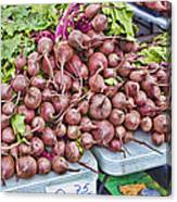 Beets At The Farmers Market Canvas Print