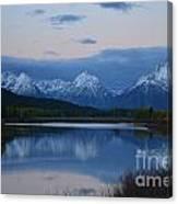 Before Sunrise Canvas Print