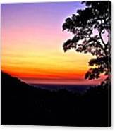 Zambia - Just Before Sunrise  Canvas Print