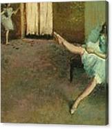 Before The Ballet Canvas Print