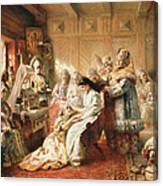 Before The Wedding, 1890 Oil On Canvas Canvas Print