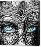 Behind Blue Eyes Canvas Print