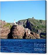 Behind Fort Amherst Rock 2 By Barbara Griffin Canvas Print
