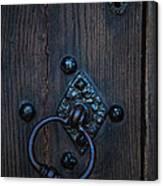 Behind Locked Doors Canvas Print