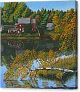 Behind Rollie's House Canvas Print