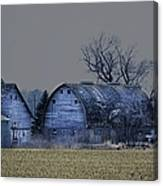 Behind The Barn Canvas Print