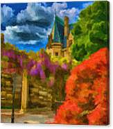 Behind The Biltmore Canvas Print