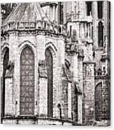 Behind The Cathedral Canvas Print