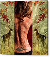 Behind The Screen Canvas Print