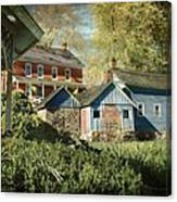 Behind The Smokehouse Canvas Print