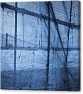Behind The Veil - New York City Canvas Print