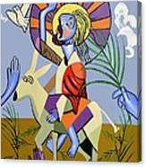 Behold The Lamb Of God Canvas Print