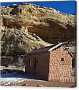 Behunin Cabin Capitol Reef National Park Utah Canvas Print